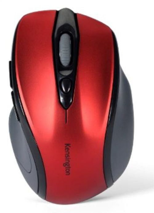 Kensington Pro Fit Mouse Mid-Size Optical Wireless Red Ref K72422WW