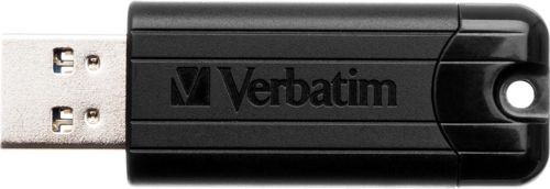Verbatim Pinstripe Flash Drive 3.0 32GB Black Ref 49317
