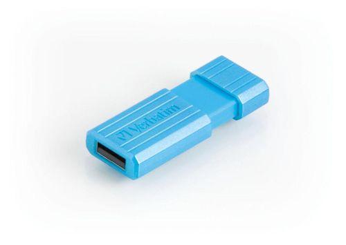 Verbatim Pinstripe USB Drive 16GB Blue Ref 49068
