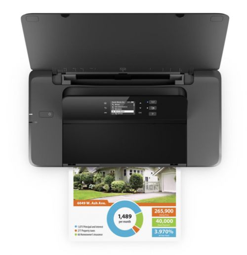 HP OfficeJet 200 Mobile Printer Wireless Black Ref CZ993A