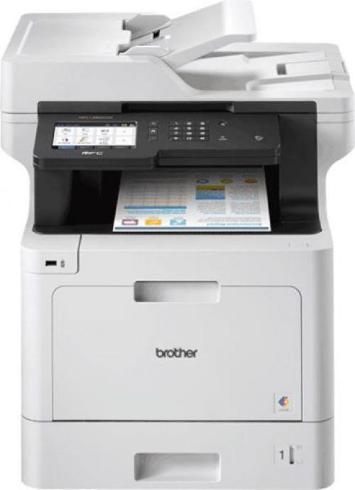 Brother MFCL8900CDW Colour Laser Multifunctional Printer 126mm Touchscreen Wi-Fi Ref MFCL8900CDWZU1