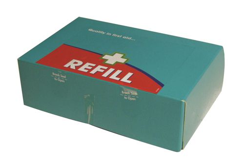 Wallace Cameron BS8599-1 Large Green Box First Aid Kit Refill Ref 1036186