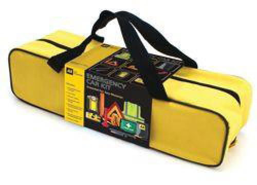 AA Emergency Winter Car Kit Comprehensive in Zipped Canvas Bag Ref 5060114615281