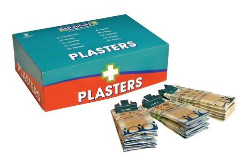 Wallace Cameron Pilferproof Refill Plasters Fabric Ref 1202006 [Pack 150]