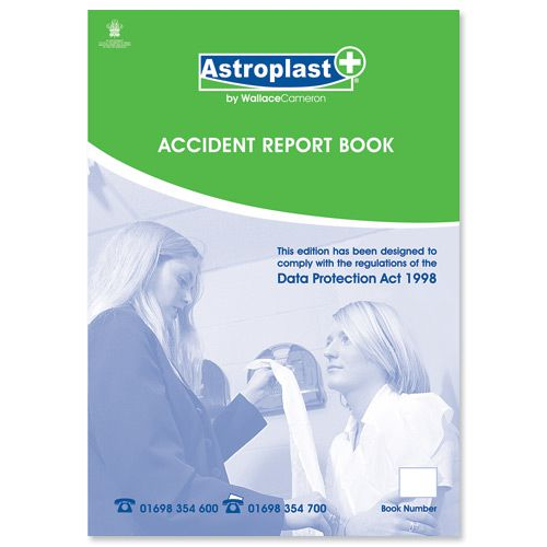 Wallace Cameron Accident Report Book A4 Ref 5401011