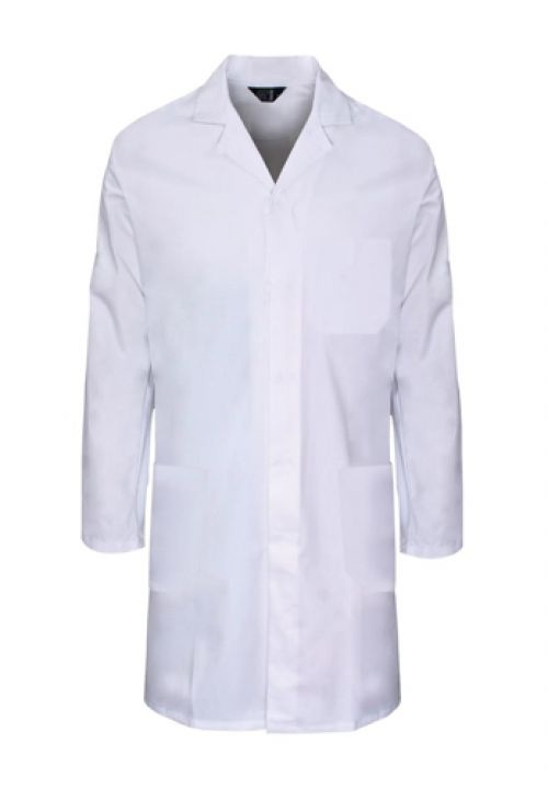 Supertouch Lab Coat Polycotton with 3 Pockets Large White Ref 57003 *Approx 3 Day Leadtime*