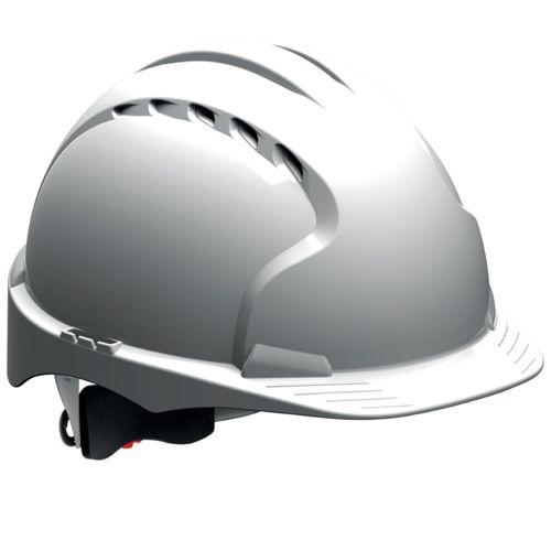 JSP EVO3 Wheel Ratchet Vented White Ref AKF170-000-1G1 [Pack 10]
