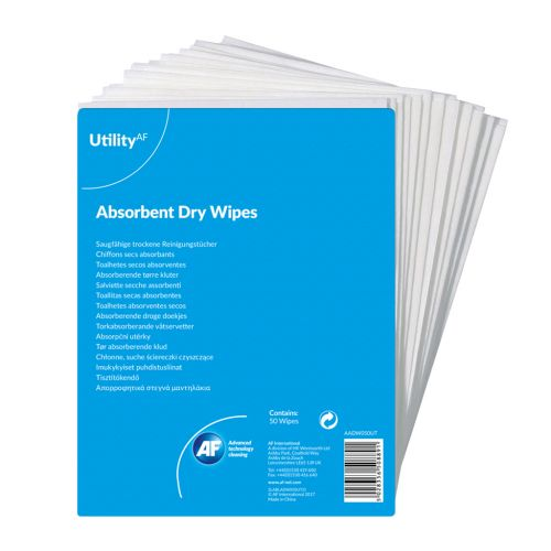 Value General Purpose Absorbent Dry Wipes PK50