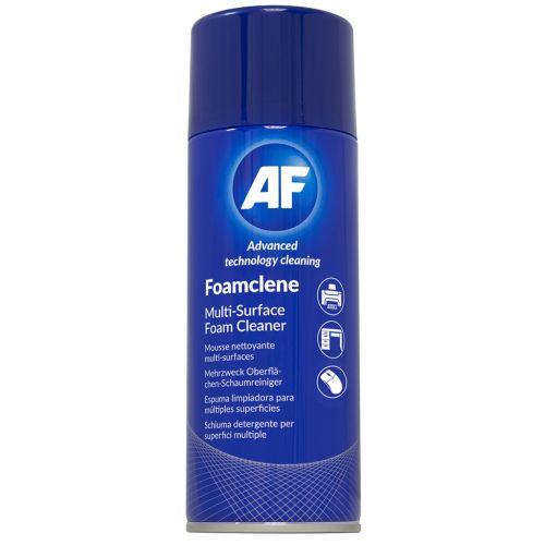 AF Foamclene Antistatic Multi Surface Cleaner 300ml Aerosol