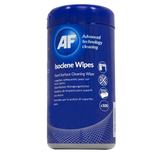 AF Isoclene Bactericidal Wipes Tub (Pack of 100) AISW100