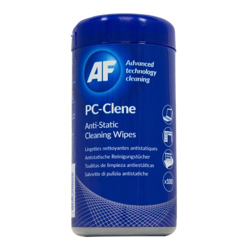 AF PC-Clene Cleaning Wipes Tub 100