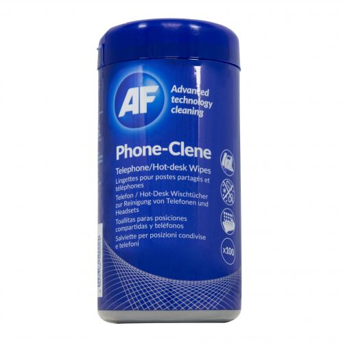AF Phone-Clene Telephone Wipes APHC100T
