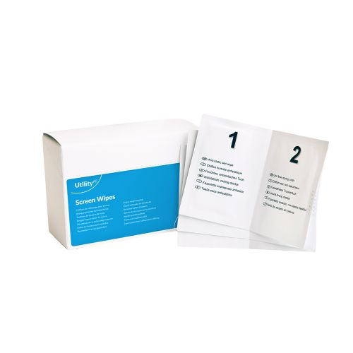 ValueX Wet and Dry Screen Wipes Duo (Pack 20)