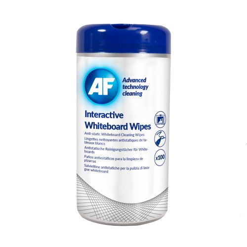 Image for AF Interactive Whiteboard Wipes Tub of 100