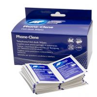 AF Phone-Clene Telephone Wipe Sachets (Pack of 100) APHC100