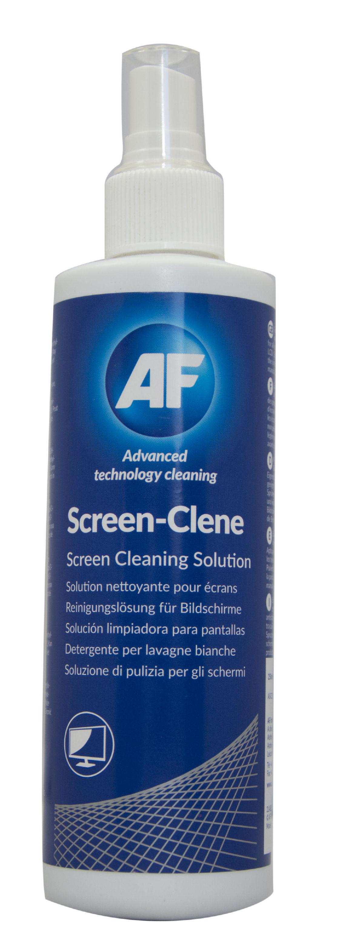 AF Screen-Clene Pump Spray 250ml