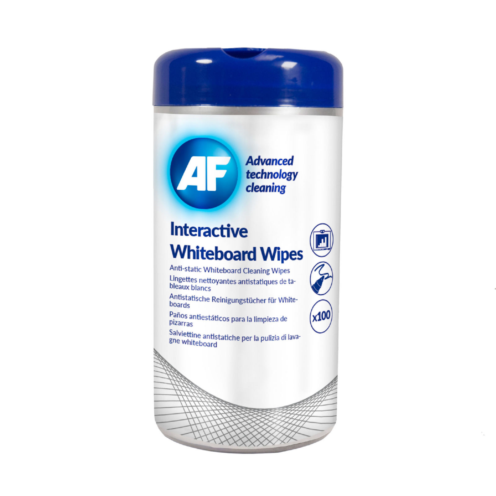 AF Interactive Whiteboard Wipes (Pack of 100) AWBW100T