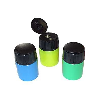 Eisen Canister Pencil Sharpener, double hole