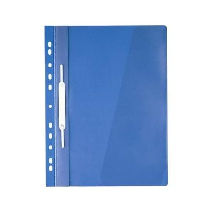 Durable Multi-Punched Project Folder A4 Blue 256006 (PK25)