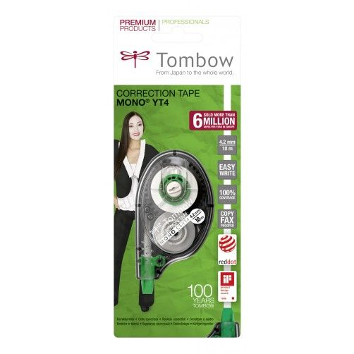 Image for Tombow Correction Tape 4mm CY-YT4