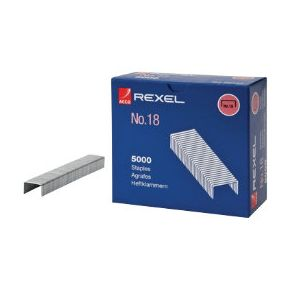 Rexel Staples No 18 8mm [Pack 5000]