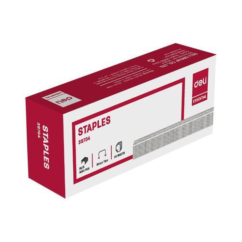 Deli Standard Staples 26/6 Bx5000