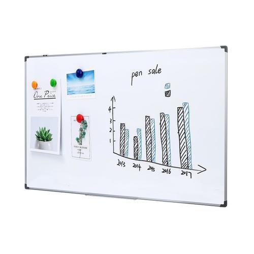 Deli Whiteboard Magnetic 180x120cm
