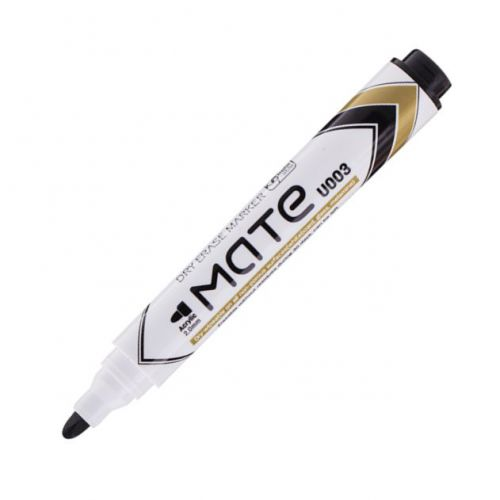 Deli Mate Whiteboard Marker Bullet Black Box 12