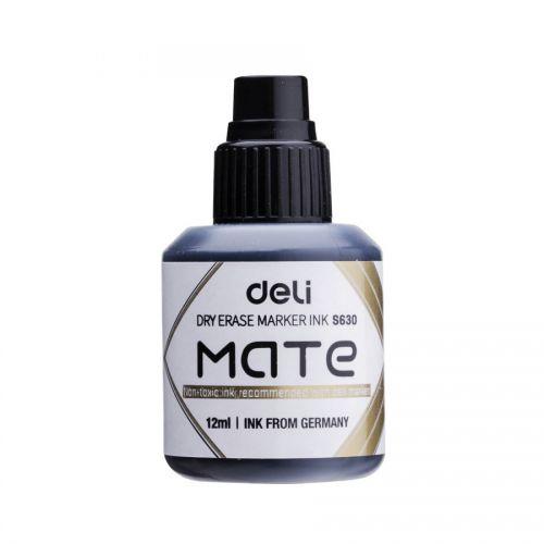 Deli Mate Whiteboard Ink Refill 12ml Black