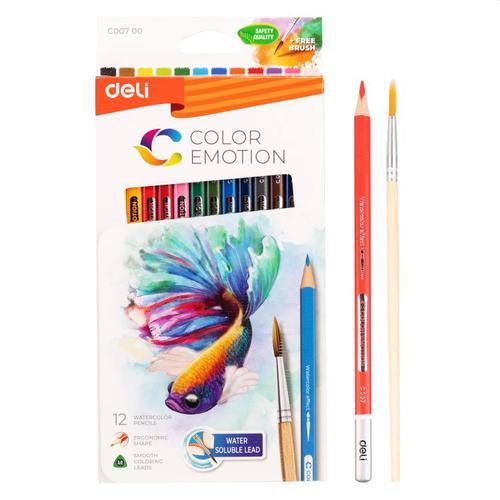 Color Emotion Water Colour Pencil Pk12