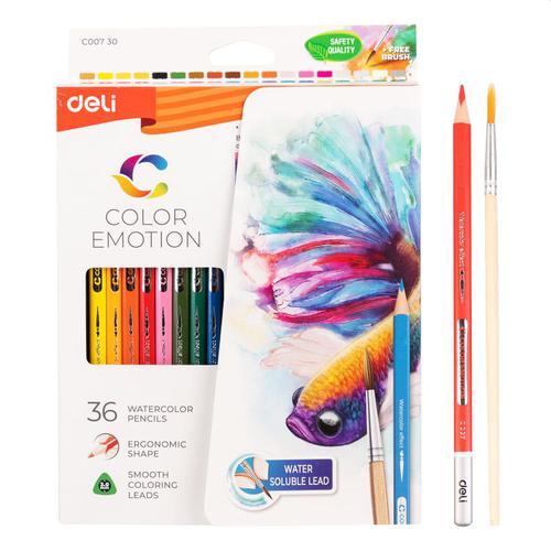 Colouror Emotion Water Colour Pencil Pk36