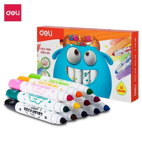 Jumbo Felt Pen 12 Colours