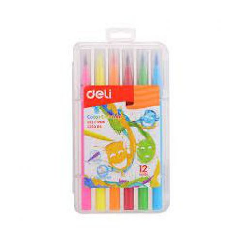 Deli Color Emotion Felt Pen 12S Pp Box
