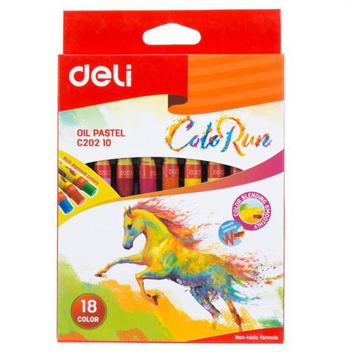 Color Run Oil Pastel 18 Colours