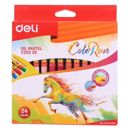Color Run Oil Pastel 24 Colours