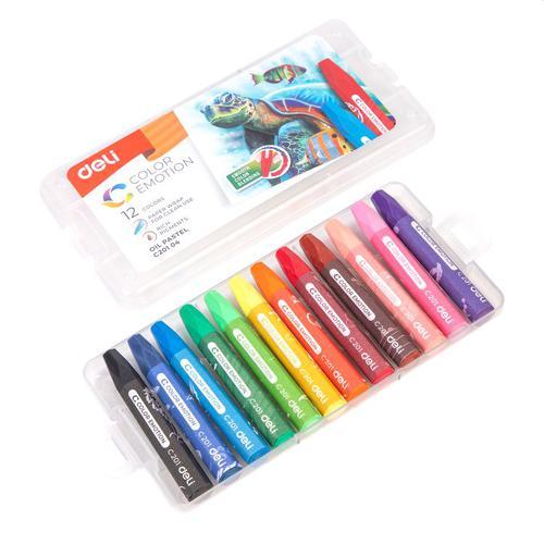 Color Emotion Oil Pastel Pp Box 12 Colours