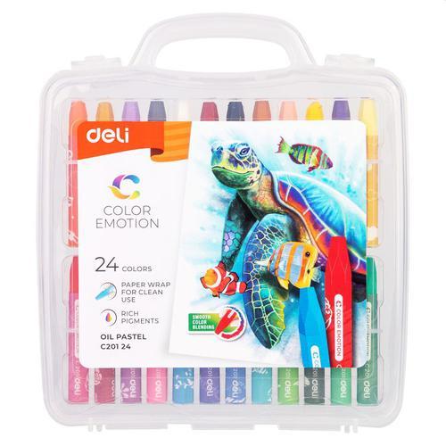 Color Emotion Oil Pastel Pp Box 24 Colours