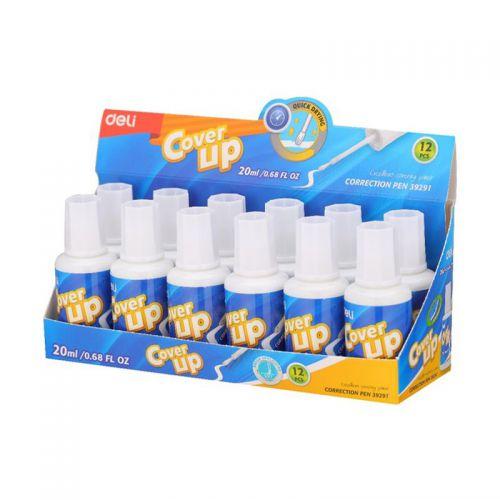 Deli Correction Fluid 20Ml Bottle Pack 12