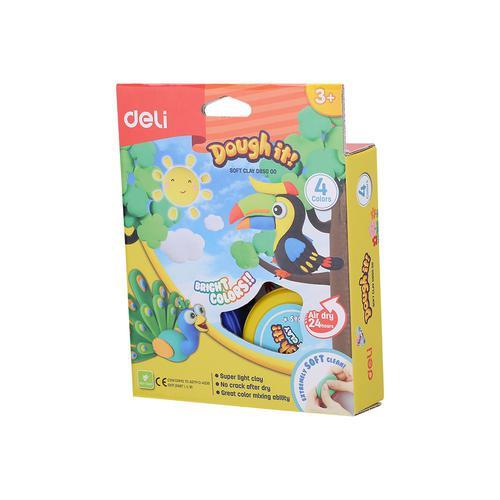 Dough-It Super Light Soft Clay 4 Colours