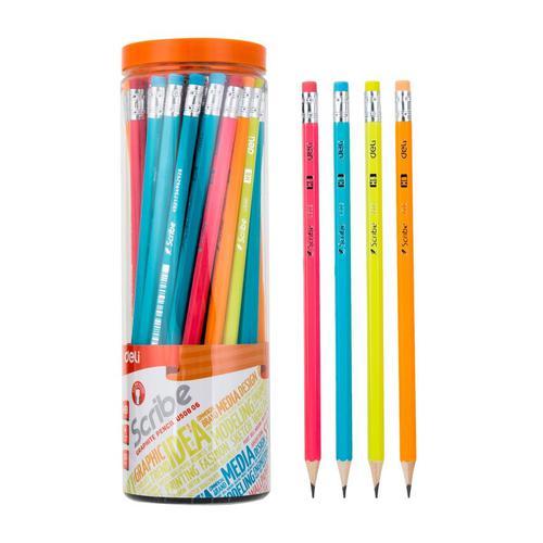 Deli HB Graphite Pencil Tub24