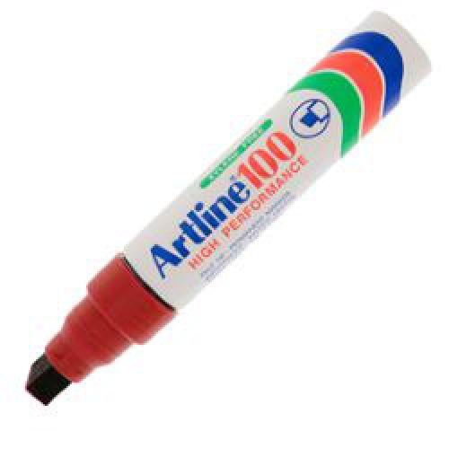 Artline 100 Jumbo Marker Chis 7-12mm Rd Pk6