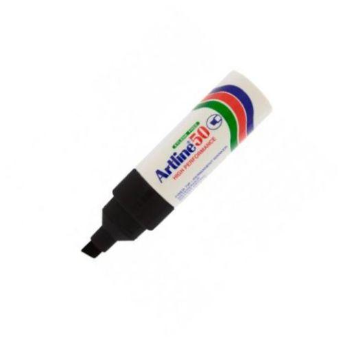 Artline 50 Chisel Tip Marker Black