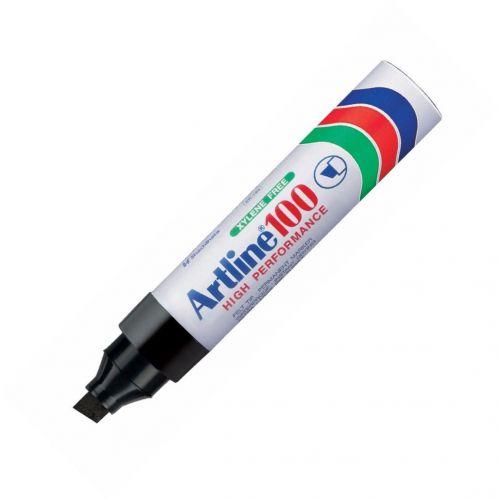 Artline 100 Giant Chisel Tip Marker Black