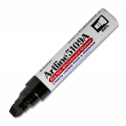 Artline Big Nib Whiteboard Marker Black Bx6