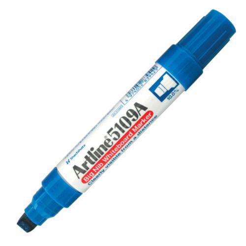 Artline Big Nib Whiteboard Marker Blue Bx6