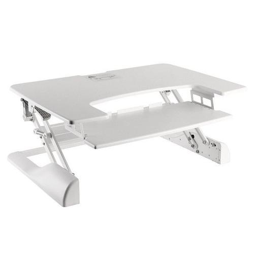 NewStar Sit-Stand Workstation White