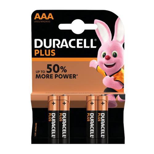Duracell MN2400 LR3 AAA Alkaline 1.5V B4