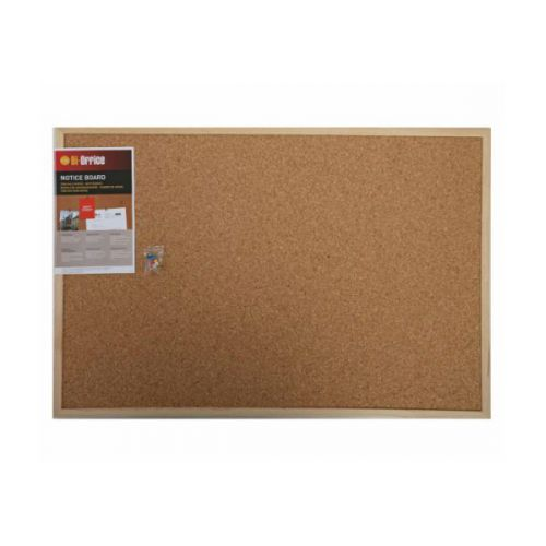 Corkboard Wooden Frame 60x40cm