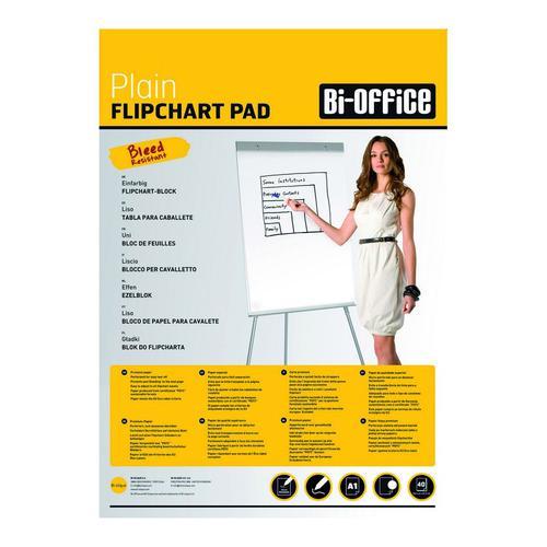 Flipchart Pad A1 40 sheet 60gsm Pk5