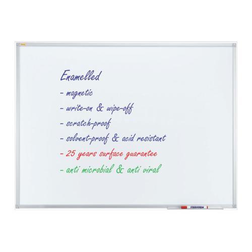 Whiteboard ECO Enamel Magnetic 120x90cm